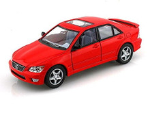 Lexus IS300 Kinsmart Diecast 1:36 Scale Red FREE SHIPPING
