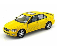 Lexus IS300 Kinsmart Diecast 1:36 Scale Yellow KT5046D FREE SHIPPING