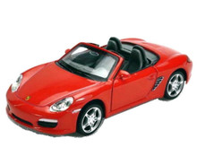 Porsche Boxster S Convertible Kinsmart Diecast 1:36 Scale Red FREE SHIPPING