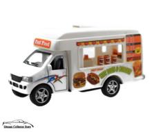 "Fast Food Truck Kinsfun Kinsmart 5"" Diecast FREE SHIPPING"