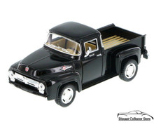 1956 Ford F-100 Pickup KINSMART. Diecast 1:38 Scale Black KT5385D FREE SHIPPING