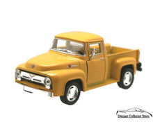 1956 Ford F-100 Pickup KINSMART. Diecast 1:38 Scale Yellow KT5385D FREE SHIPPING