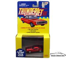 Johnny Lightning Thunderjet 500 Dodge Challenger HO Scale Chrome Adapts Slot Car