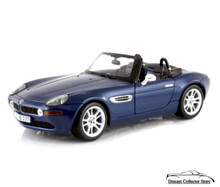 BMW Z8 MAISTO Diecast 1:24 Scale Blue 31196