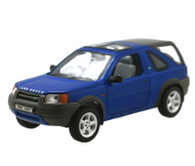 Land Rover Freelander WELLY Diecast 1:24 Scale Blue