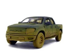 Ford F-150 SVT Raptor Super Crew Cab PU KINSMART Diecast 1:46 Scale Muddy Blue