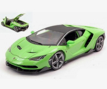 Lamborghini Centenario MAISTO SPECIAL EDITION Diecast 1:18 Scale Lime Green 31386