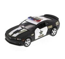 2014 Chevrolet Camaro Police Car KINSMART Diecast 1:38 Black/White FREE SHIPPING