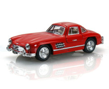 1954 Mercedes-Benz 300 SL Coupe KINSMART Diecast 1:36 Scale Red FREE SHIPPING