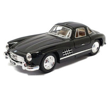 1954 Mercedes-Benz 300 SL Coupe KINSMART Diecast 1:36 Scale Black FREE SHIPPING