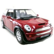 Mini Cooper S KINSMART Diecast 1:28 Scale Red FREE SHIPPING