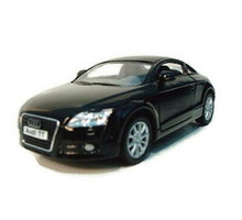 Audit TT Coupe Kinsmart Diecast 1:32 Scale Black FREE SHIPPING