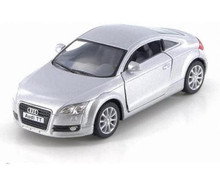 Audit TT Coupe Kinsmart Diecast 1:32 Scale Silver FREE SHIPPING
