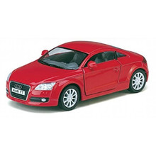 Audit TT Coupe Kinsmart Diecast 1:32 Scale Red FREE SHIPPING