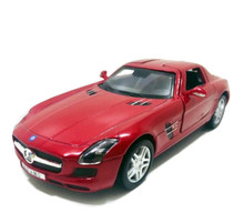Mercedes-Benz SLS AMG Kinsmart Diecast 1:36 Scale Red FREE SHIPPING