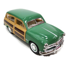 1949 Ford Woody Wagon KINSMART Diecast 1:40 Scale Green FREE SHIPPING