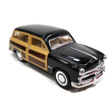 1949 Ford Woody Wagon KINSMART Diecast 1:40 Scale Black FREE SHIPPING