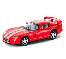 Dodge Viper GTS-R Kinsmart Diecast 1:36 w/Pull Back Action Red FREE SHIPPING