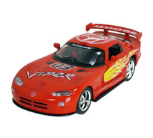 Dodge Viper GTS-R Kinsmart Diecast 1:36 Pull Back w/Graphic Red FREE SHIPPING