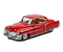 1953 Cadillac Series 62 Coupe Kinsmart 1:43 Diecast Red FREE SHIPPING