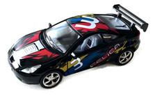 "Toyota Celica Street Fighter Kinsmart Diecast 5"" Black FREE SHIPPING"