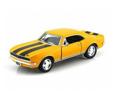 1967 Chevrolet Camaro Z-28 KINSMART Diecast 1:37 Yellow FREE SHIPPING