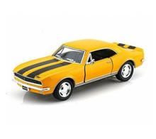 1967 Chevrolet Camaro Z-28 KINSMART Diecast 1:37 Yellow FREE SHIPPING