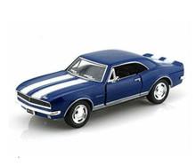 1967 Chevrolet Camaro Z-28 KINSMART Diecast 1:37 Blue FREE SHIPPING