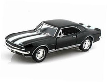 1967 Chevrolet Camaro Z-28 KINSMART Diecast 1:37 Black FREE SHIPPING