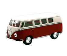1962 VW Volkswagon Classical Bus KINSMART Diecast 1:32 Red FREE SHIPPING