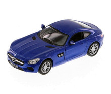 Mercedes AMG GT Kinsmart Diecast 1:36 Scale Blue FREE SHIPPING