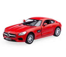 Mercedes AMG GT Kinsmart Diecast 1:36 Scale Red FREE SHIPPING