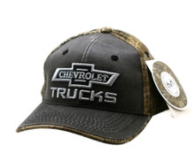 Hat - Chevrolet Trucks Realtree Max-1 XT Camouflage Brown Ball Cap FREE SHIPPING
