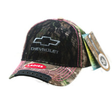 Hat -Chevrolet LADIES RealTree Camouflage Ball Cap FREE SHIPPING