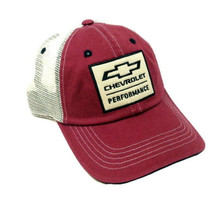 Hat - Chevrolet Chevy Bow Tie Logo Mesh Back Trucker Style Cap FREE SHIPPING