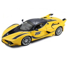 Ferrari FXX K MAISTO SPECIAL EDITION BBURAGO Diecast 1:18 Scale Yellow