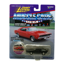 1972 AMC JOHNNY LIGHTNING MUSCLE CARS Diecast 1:64 Black FREE SHIPPING