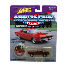 1969 Pontiac Firebird Johnny Lightning MUSCLE CARS Diecast 1:64 Red Free Ship