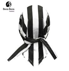 Bandana Headwrap DANBANNA DELUXE The Clink Prisoner Convict Du-Rag Skull Cap