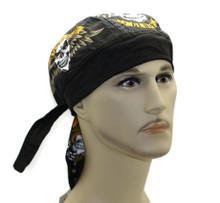 Bandana Headwrap DANBANNA DELUXE Iron Glory Du-Rag Skull Cap FREE SHIPPING