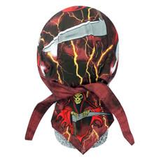 Bandana Headwrap DANBANNA DELUXE Red Phantom Du-Rag Skull Cap FREE SHIP