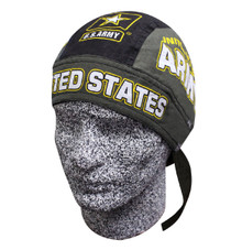 Bandana Headwrap DANBANNA DELUXE United States Army Du-Rag Skull Cap FREE SHIP