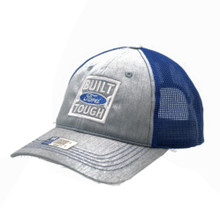 Hat - FORD Mesh Adjustable Cap Built Ford Tough Grey & Royal