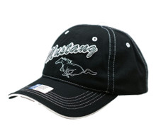 Hat - Ford Mustang Embroidered Applique Adjustable Cotton Twill Cap