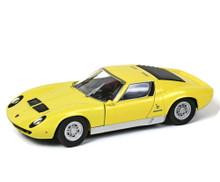 Lamborghini Miura P 400 s Motormax 75368 Diecast 1/24 Scale Yellow