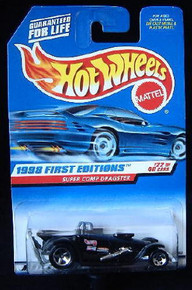 HOT WHEELS 1998 1st Edition #22 of 40 RARE 3 Tampos Version Dragster 1:64 Scale