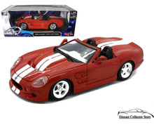 1999 Shelby Series 1 MAISTO SPECIAL EDITION Diecast 1:18 Scale Red