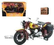 1934 Indian Sport Scout Motorcycle Diecast 1:12 Scale FREE SHIPPING