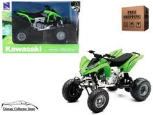 Kawasaki KFX 450R ATV NewRay Diecast 1:12 Scale Green FREE SHIPPING