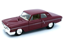 1964 Ford Fairlane Thunderbolt PRO RODZ Maisto Diecast 1:24 Scale Red
